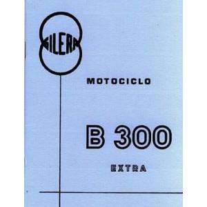 Gilera B 300 Extra, Betriebsanleitung