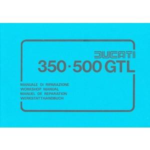 Ducati 350 und 500 GTL, (350/500 GT und 500 Sport Desmo Modelle) Reparaturanleitung