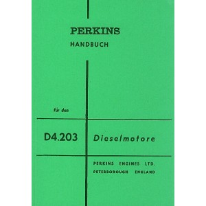 Perkins Dieselmotor D4.203, Betriebsanleitung