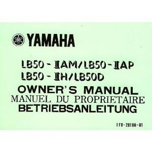 Yamaha LB 50 - II AM / II AP / II H / D, Betriebsanleitung