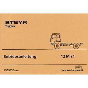 Steyr 12 M 21 Betriebsanleitung
